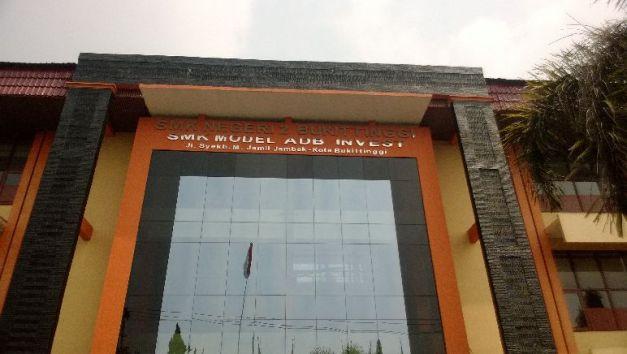 Gerbang SMK N 2 Bukittinggi